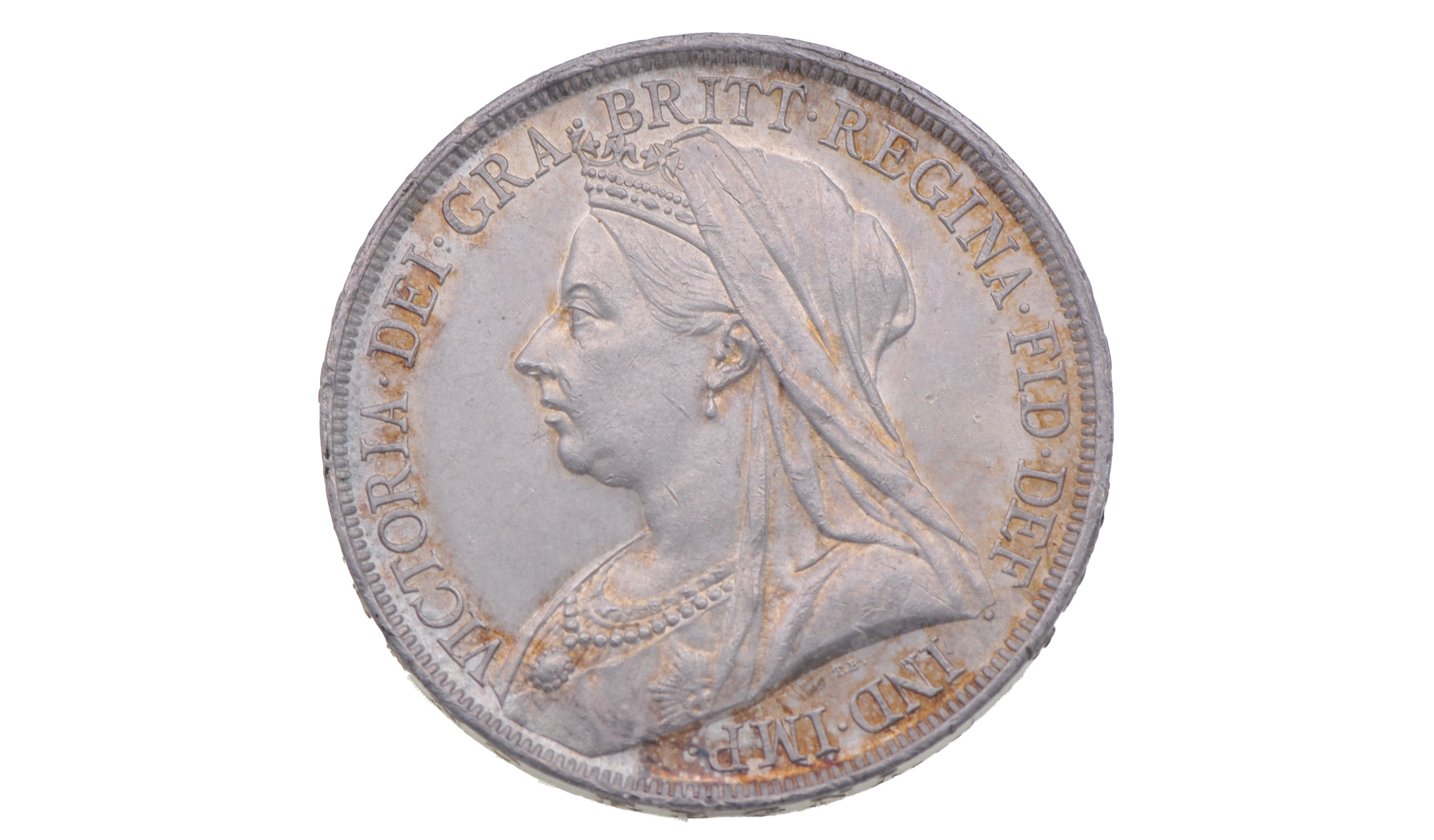 Crown coins that were made before 1920 are worth around £13, according to the Britannia Coin Company calculator