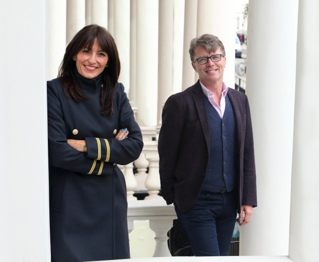 Davina McCall and Nicky Campbell are the presenters of ITV's Long Lost Family