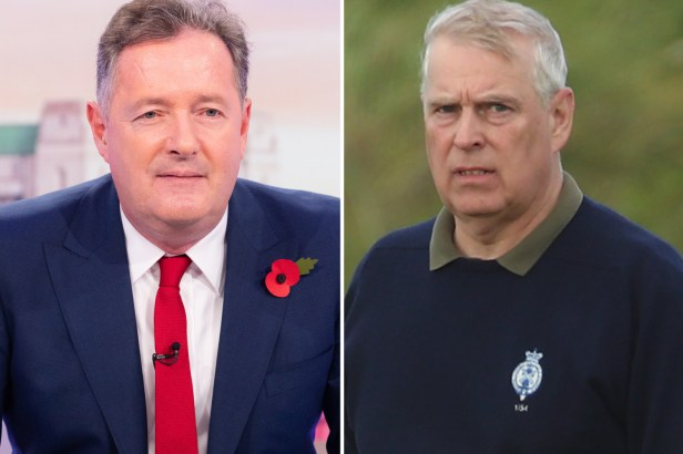 Piers says Andrew should give up throne over 'links to Epstein case'