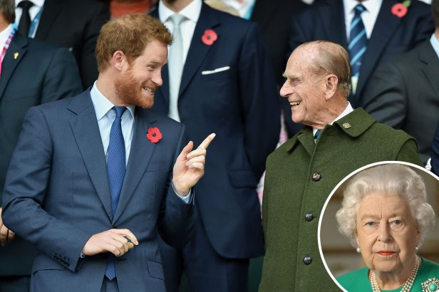 Harry 'called Queen about Philip's health' after royal, 99, taken to hospital