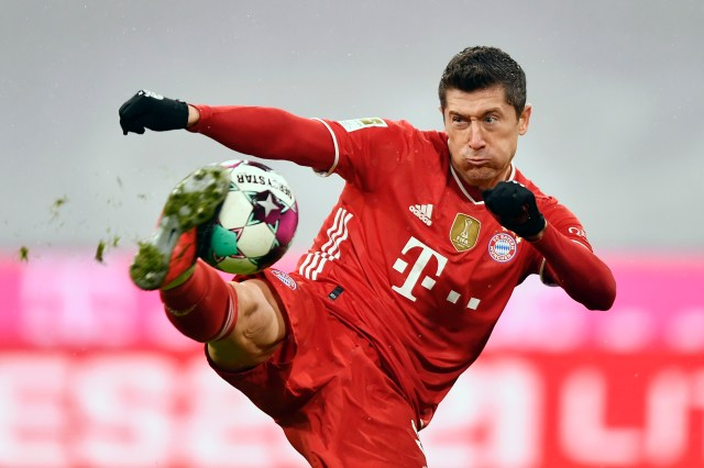 Robert Lewandowski's Bayern take on Lazio
