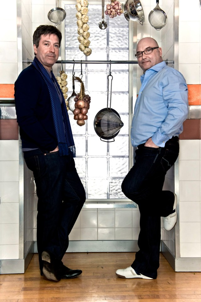 John Torode and Gregg Wallace started filming MasterChef almost twenty years ago