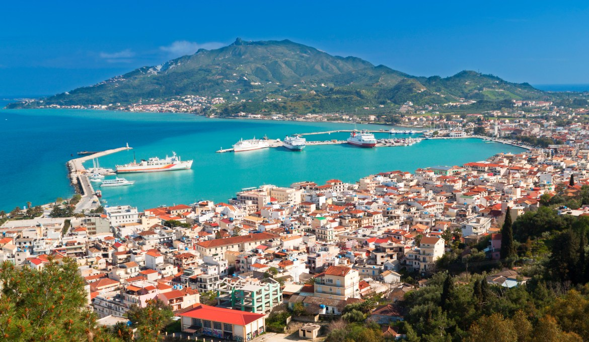 34 new flights have been added to Zante, from a range of UK airports