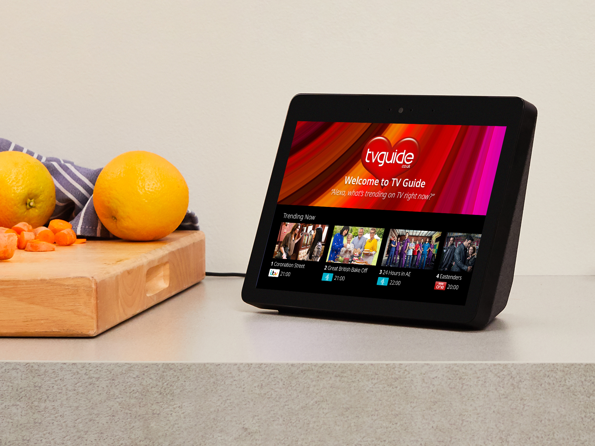The device sounds similar to an Echo Show