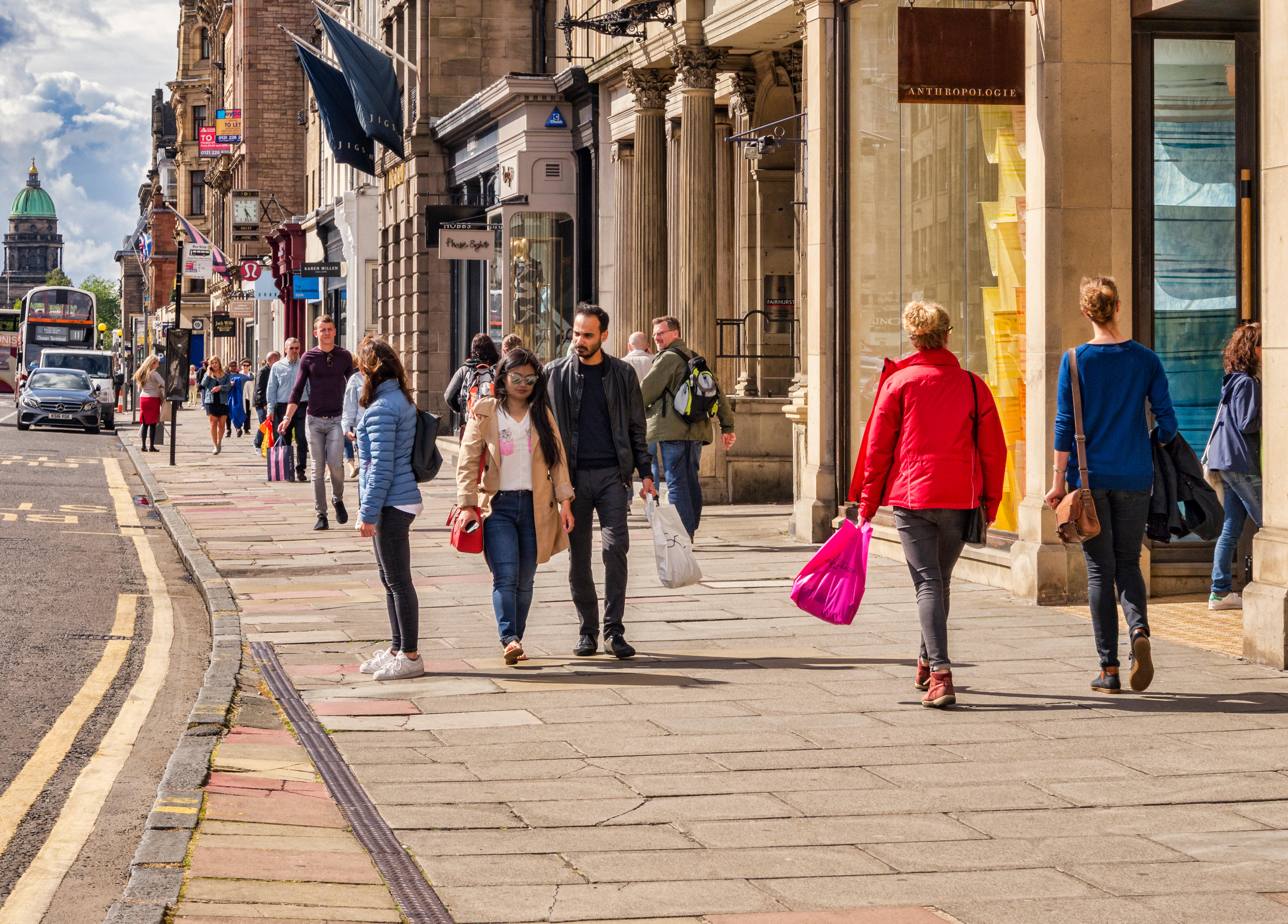 Shoppers can visit more stores when they reopen in April