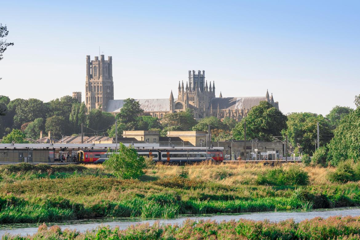 Find peace as you take in the gargantuan Ely cathedral, built in 1083