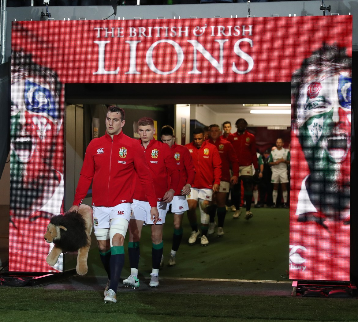 The Lions are hoping to salvage their summer tour