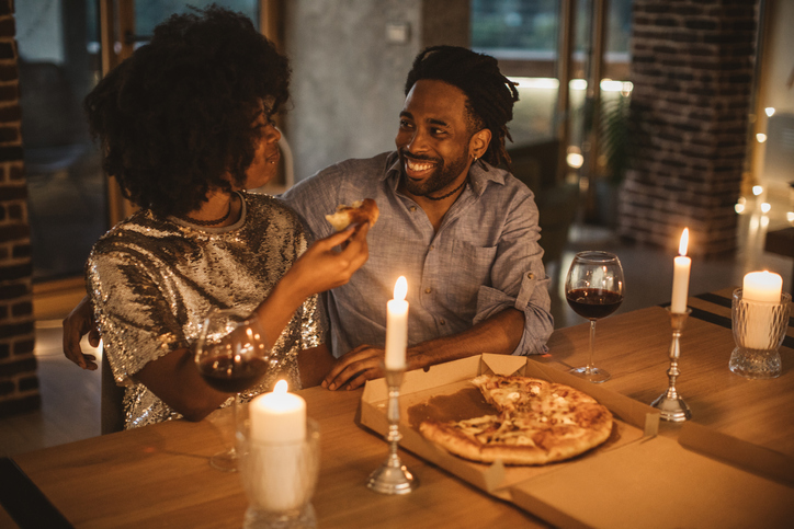 The perfect pizza party for two!