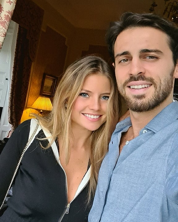 The Portuguese model says her relationship with Bernardo Silva is 'like a fairytale'