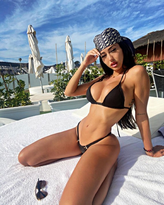 Jese was accused of cheating on partner Aurah Ruiz with her model friend
