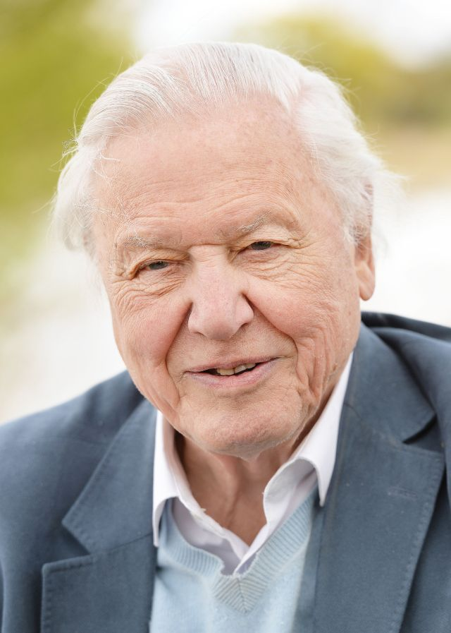 Sir David Attenborough will echo Mr Johnson's words