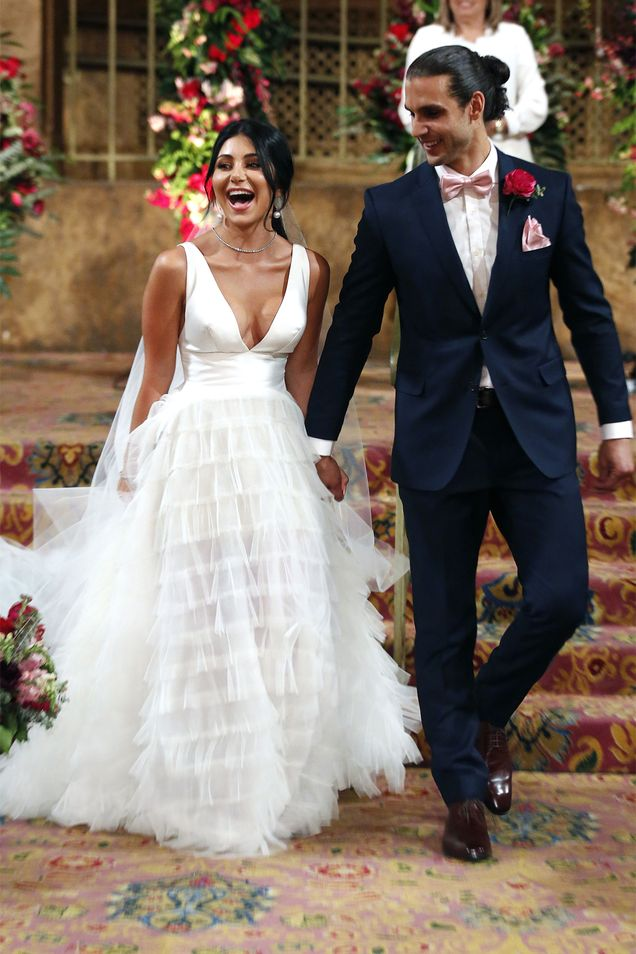 Martha and Michael got married at a luxury venue in Melbourne
