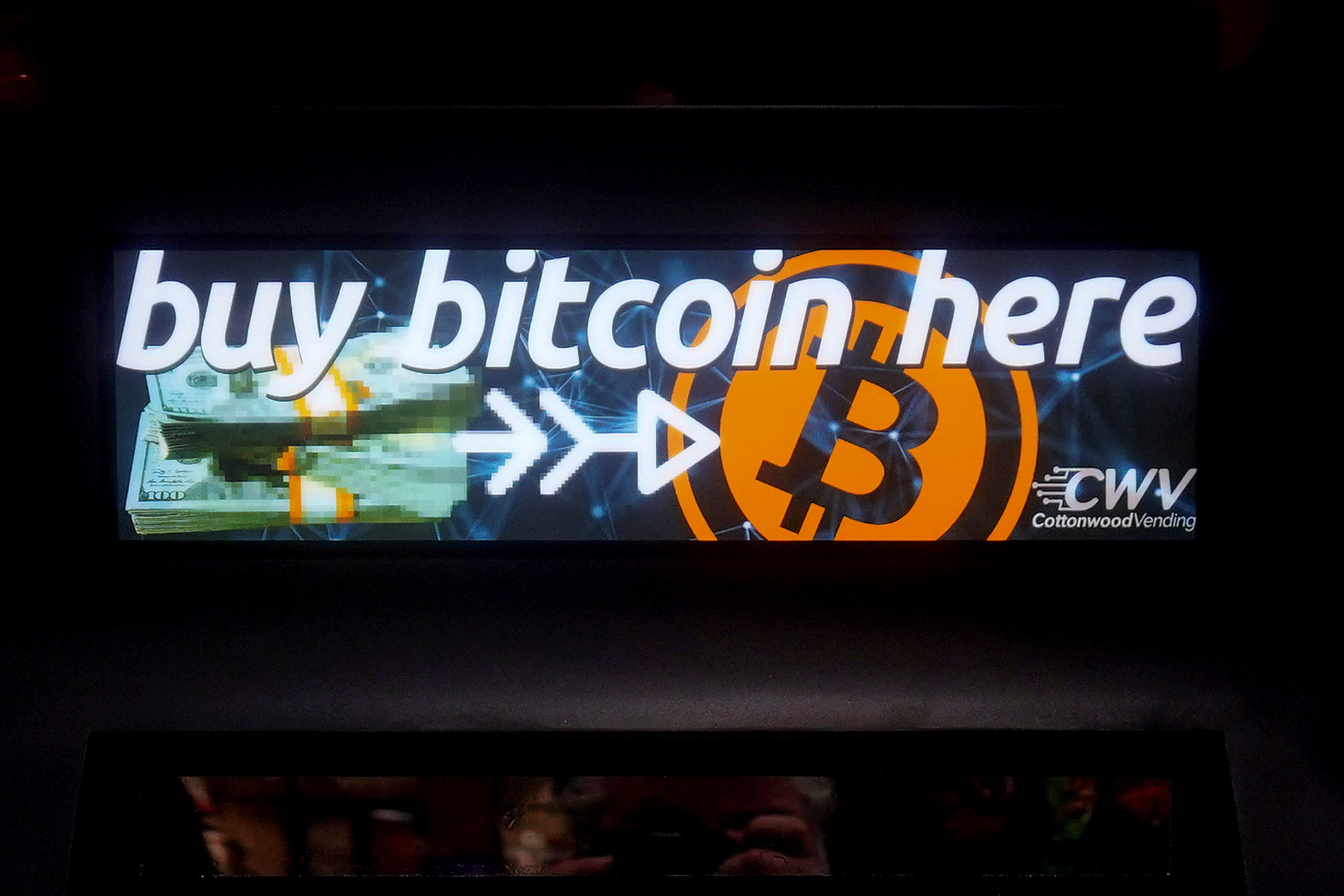 Bitcoins can be spent in thousands of locations but there are risks