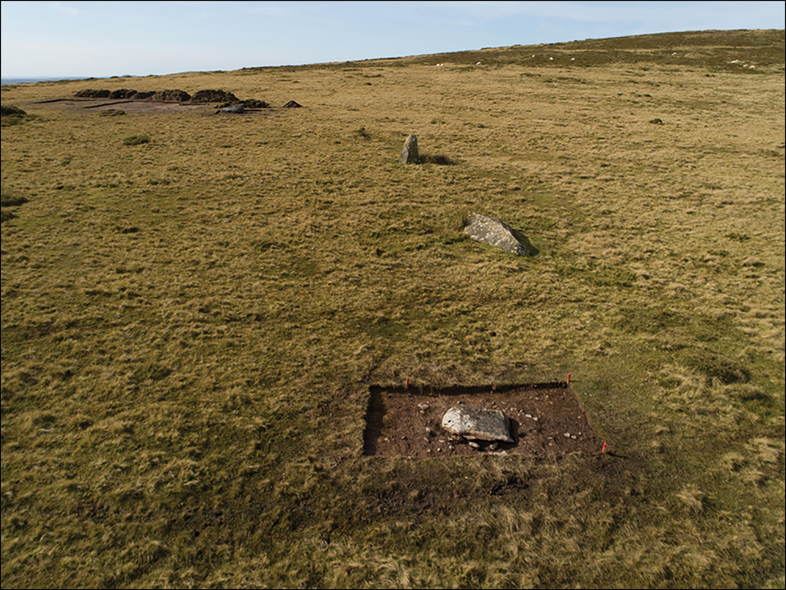 Named Waun Mawn, it's one of the biggest stone circles ever found in Britain, with a diameter matching that of Stonehenge