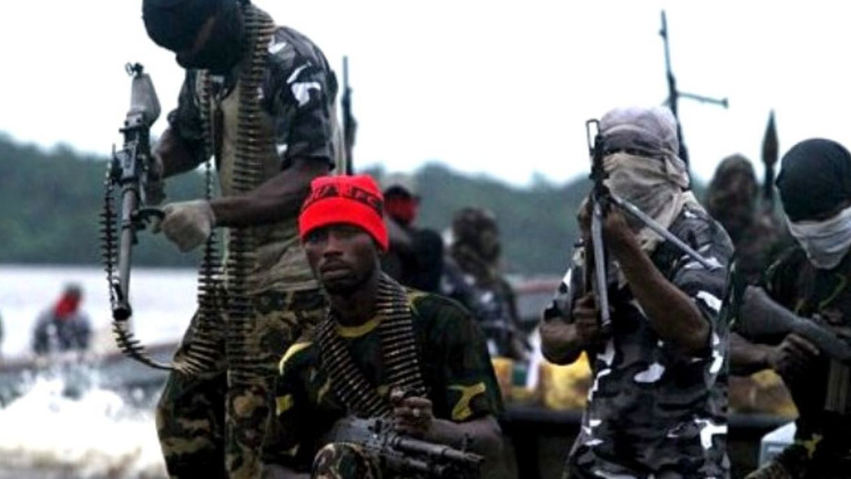 Armed pirates groups are a common sight in the Gulf of Guinea