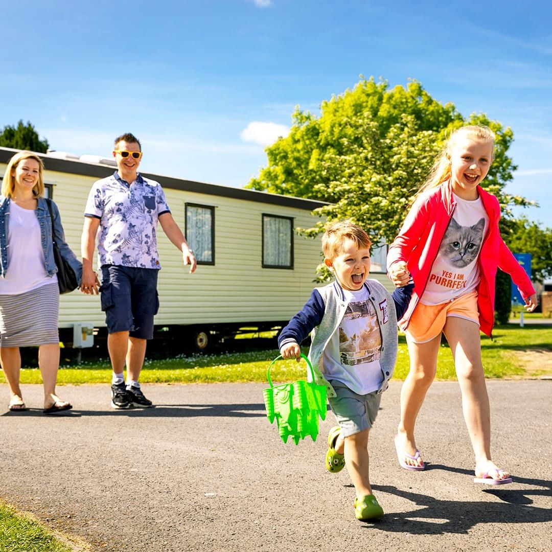 Families can stay at a Park Holidays holiday park from £20 a night
