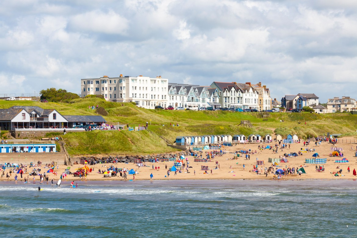 Summerleaze Beach in Cornwall has also been listed in the UK's top 50 beaches.