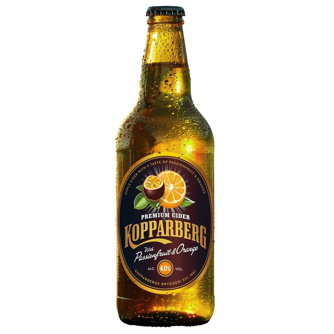 opparberg passionfruit and orange cider is only £1.90 a bottle at Sainsbury's