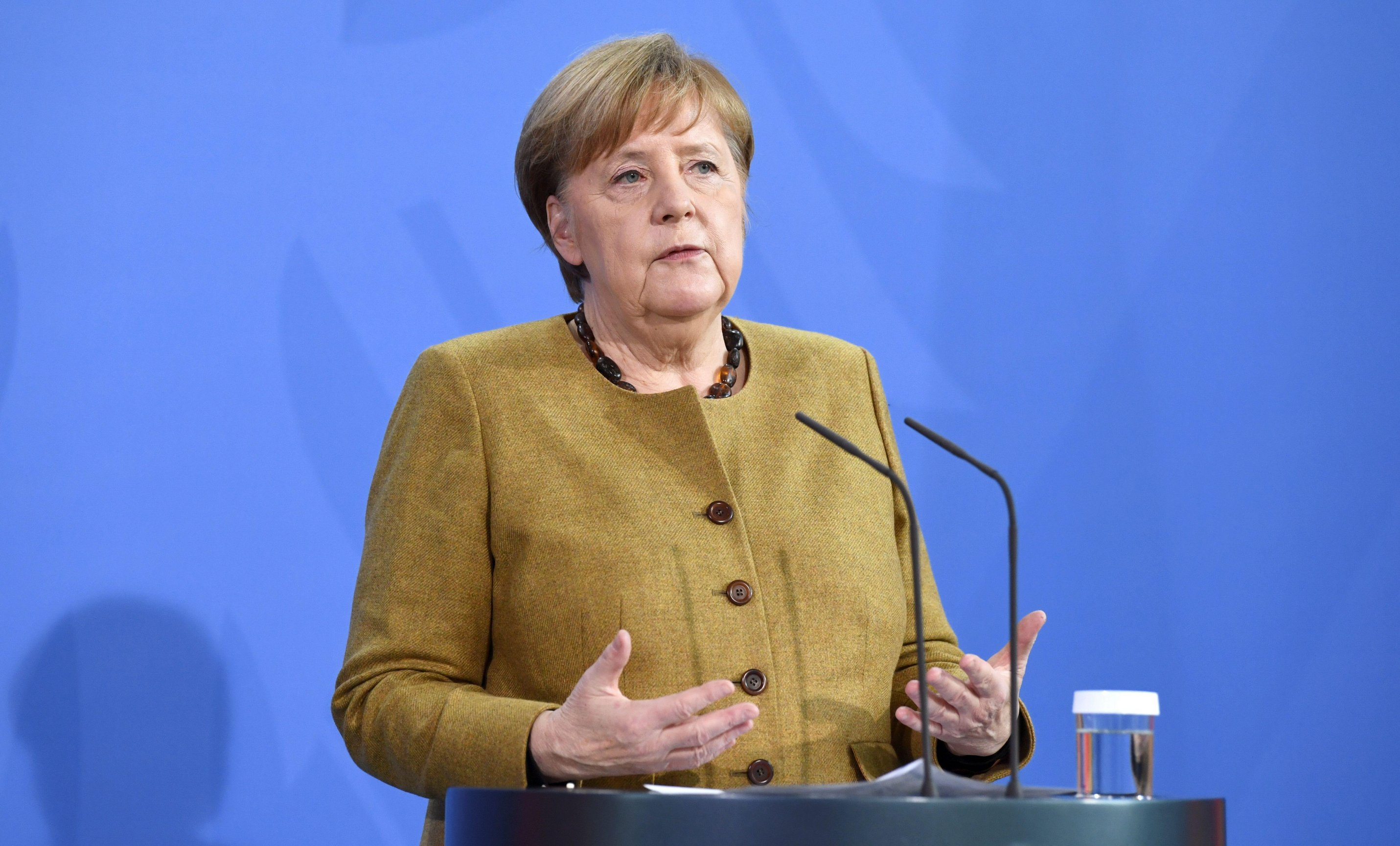 Many in Germany don't want the Oxford jab after it was criticised by politicians including Angela Merkel
