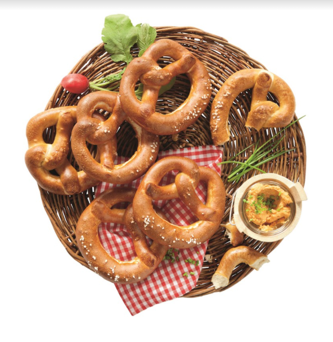 Enjoy a warm home-baked Ready To Bake Pretzels and grab nine for £1.79 at Lidl