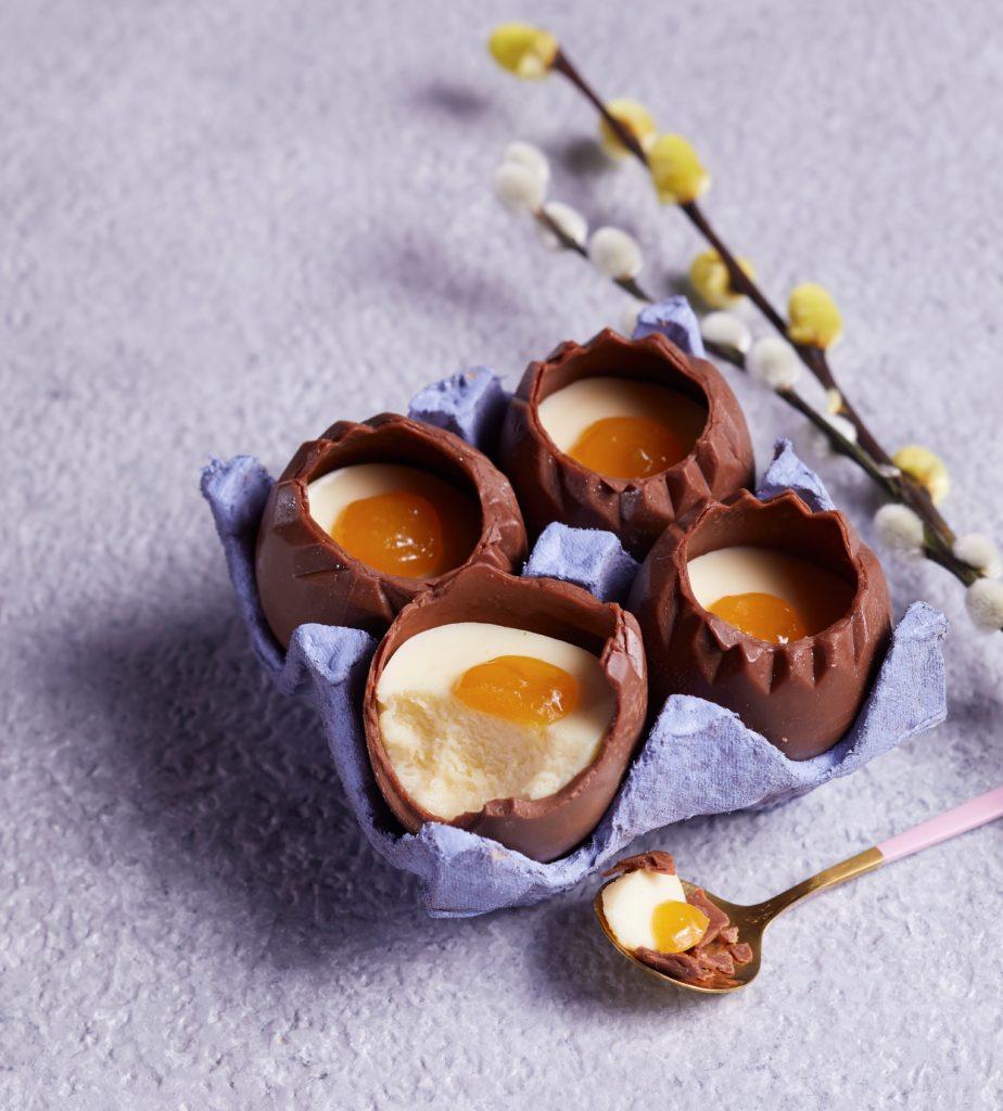 A new take on a creme egg
