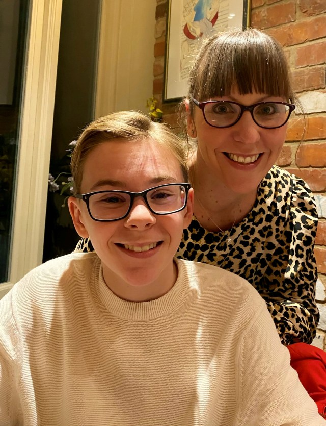 Bertie Wood, 12, of Wallingford, Oxon, got his jab last week after persuading his parents