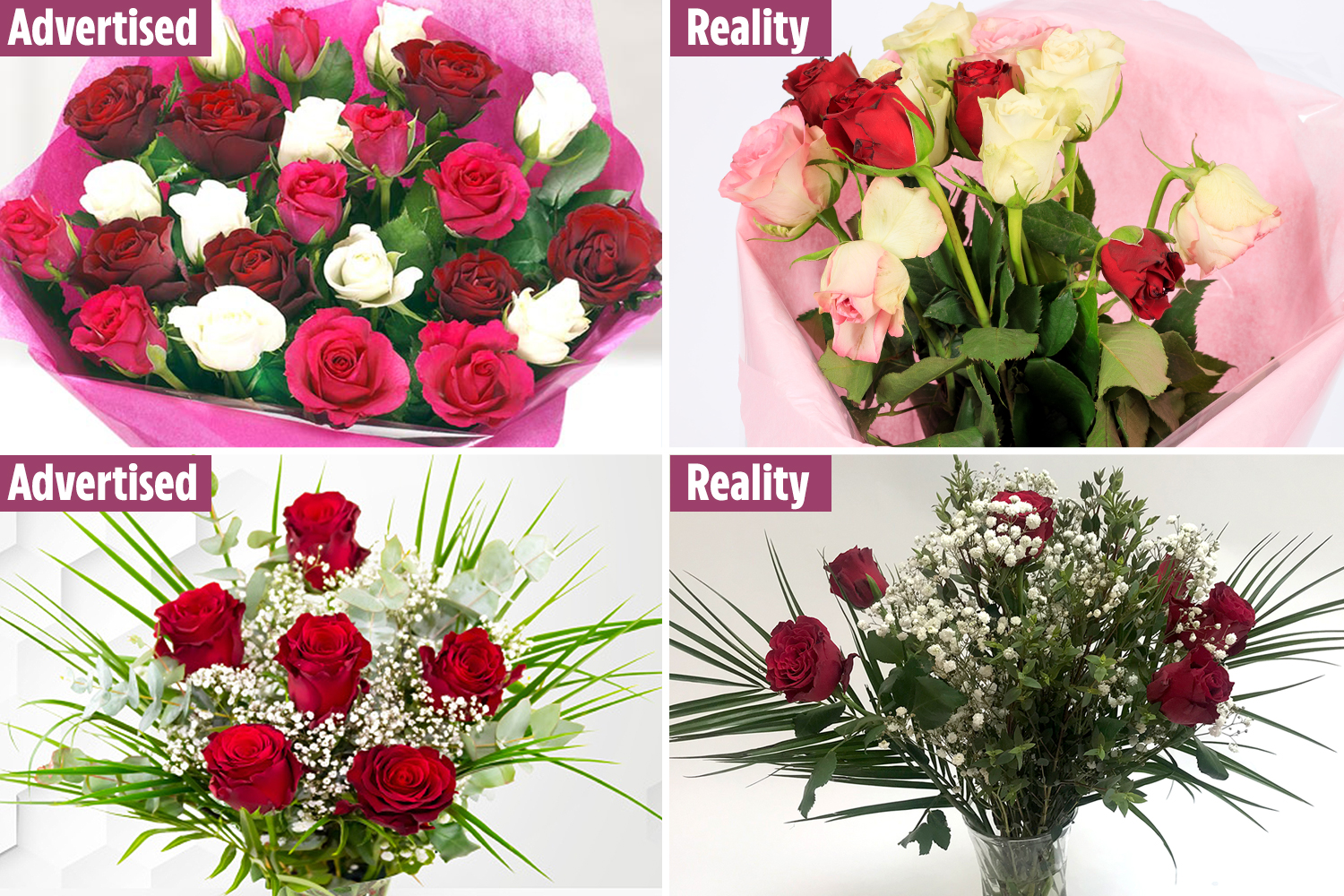 We ranked six blooms from six retailers to see which bunch was the best