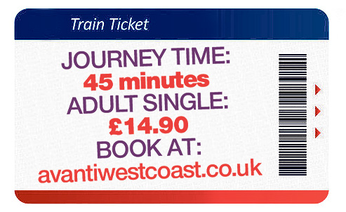 Book your 45-minute journey from Lancaster to Windermere for £14.90