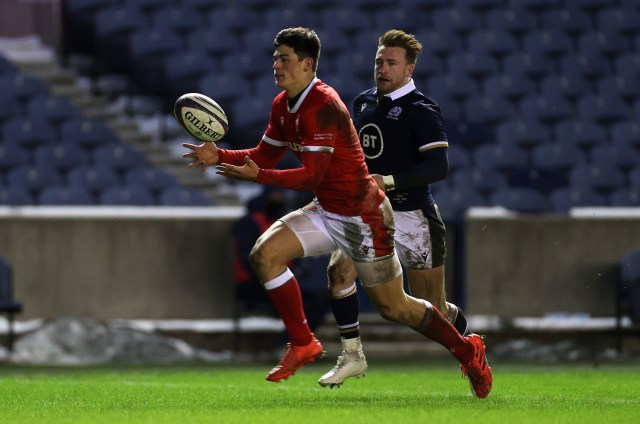 Louis Rees Zammit scored a wonder try to win the match for Wales against Scotland