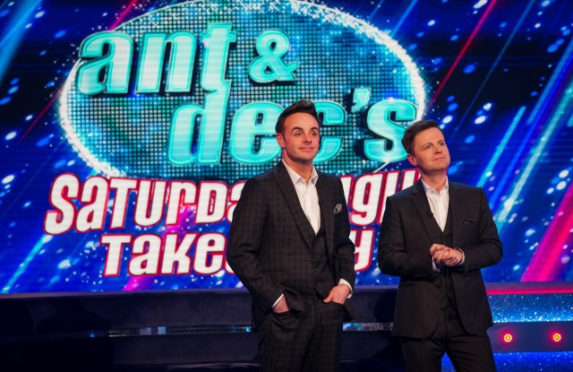 Ant and Dec hosted the return of Saturday Night Takeaway on ITV and were joined by a virtual audience