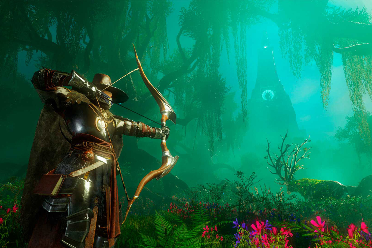 New World is a massively multiplayer online role-playing game