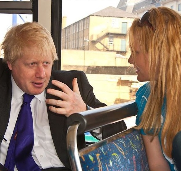 Jennifer Arcuri claims she exchanged racy messages with Boris Johnson