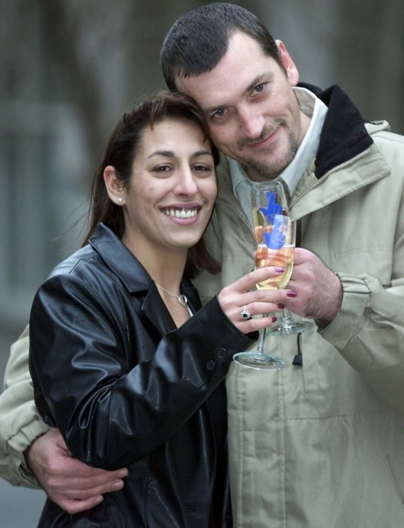 Barbara and husband Paul Derry won over £2million 21 years ago