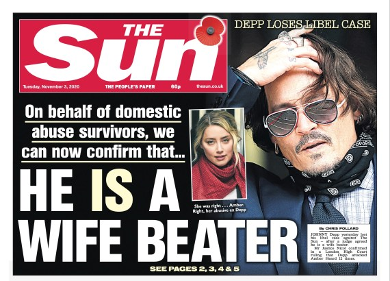 The Sun reports on the dramatic win last year