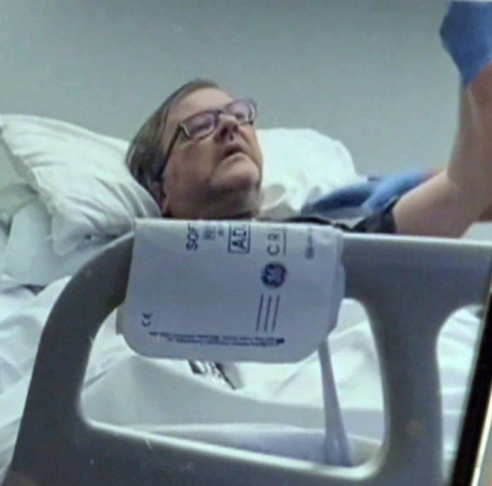 Kate explained that Derek had nearly died on six occasions after his organs failed