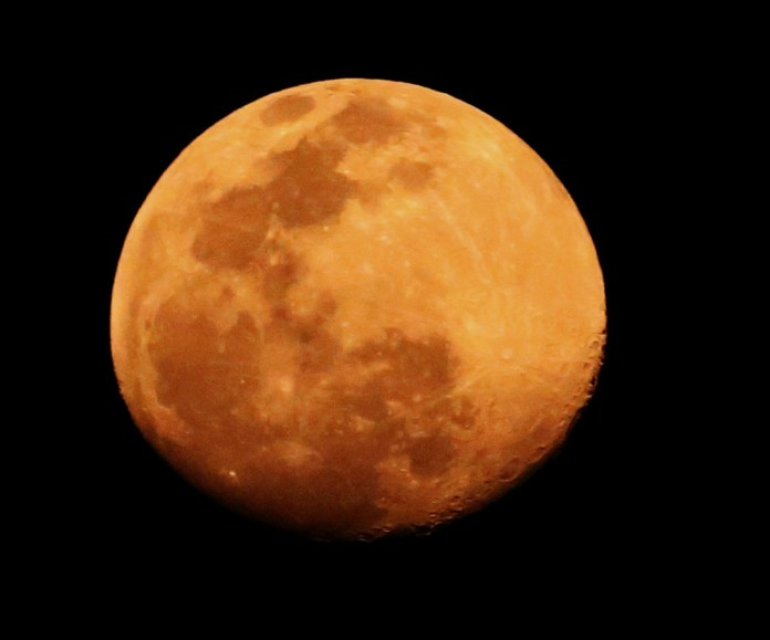 Tonight marks the Full Worm Moon where it will appear huge and bright in the sky