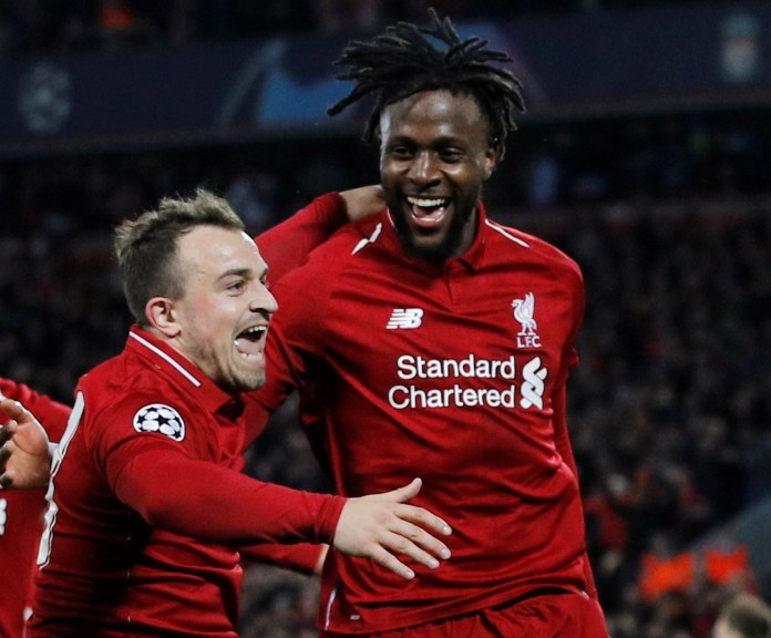 Origi and Shaqiri have both seen better days at Liverpool