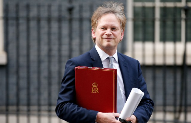 Grant Shapps is in charge of the Global Travel Taskforce