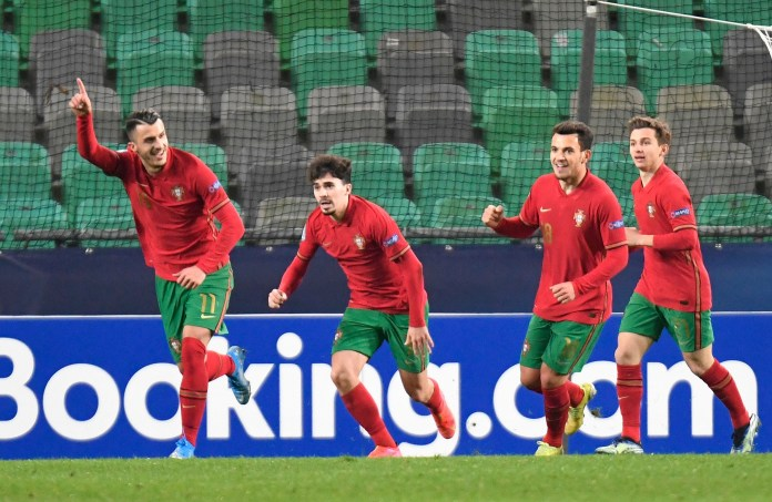 Portugal dominated the game as England failed to muster a shot on goal