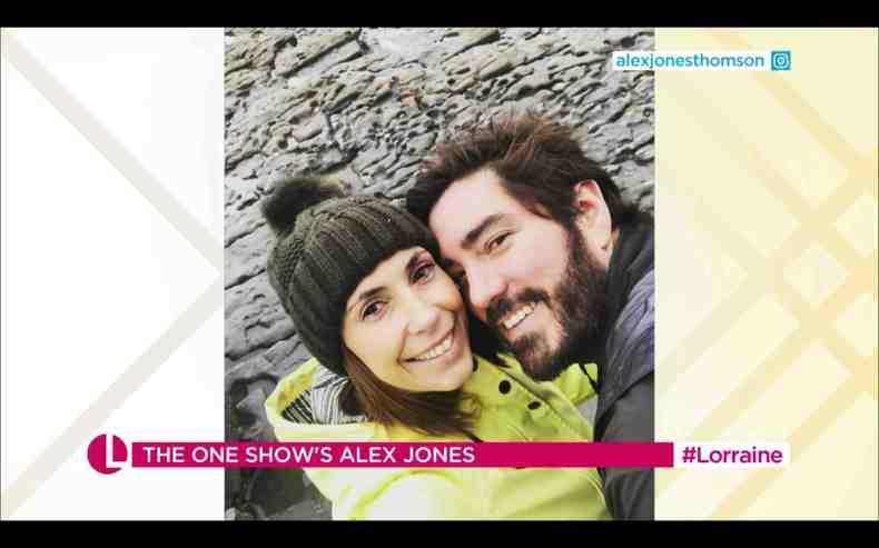 The TV presenter and husband Charlie Thomson, 42, do not plan on having more children