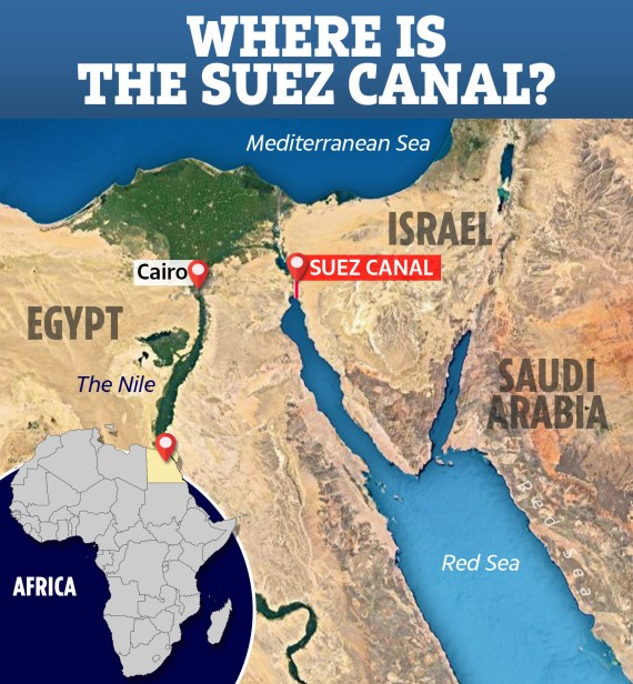 The canal is operated and maintained by the state-owned Suez Canal Authority (SCA) of Egypt
