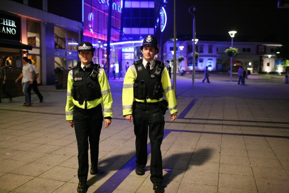 The Sun Columnist praised the police for the hard work they do to serve their communities