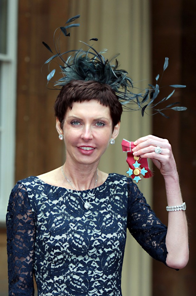 Bet365 boss Denise Coates, 53, earned a whopping £469million last year