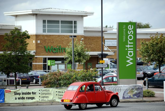 All Waitrose shops will be closed on Easter Sunday