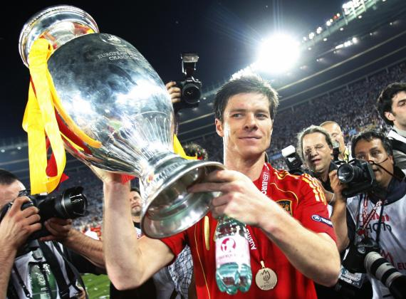 Alonso won 114 caps for Spain, winning two European Championships either side of the 2010 World Cup