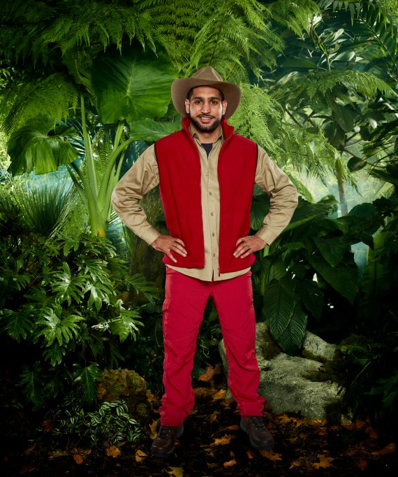 The couple's reconciliation coincided with Amir's stint on I'm A Celebrity