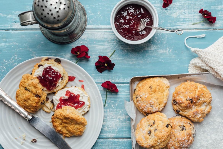 Why not treat mum to some tasty homemade scones?