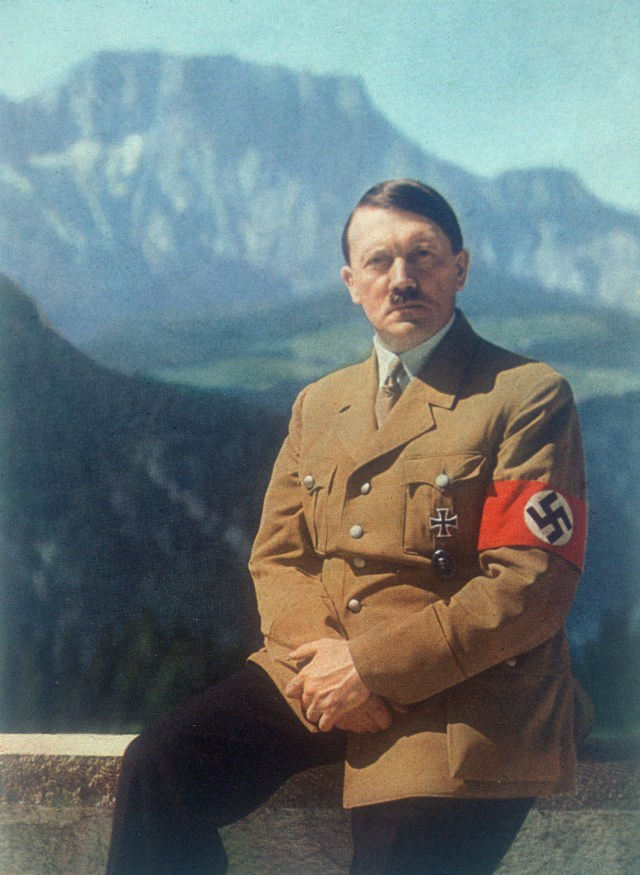 German dictator Adolf Hitler is believed to have wanted to avoid going to war with Britain