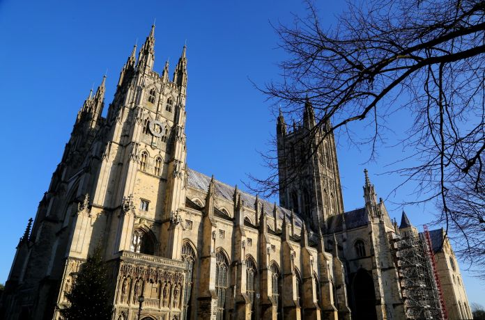 Canterbury Cathedral has become a place of pilgrimage for many Christians