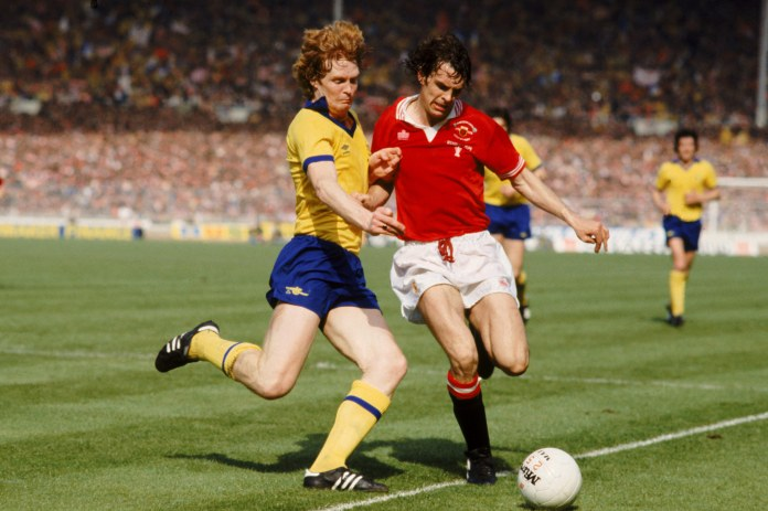 Big Willie Young won the FA Cup with Arsenal in 1979 in a thrilling game against Man Utd